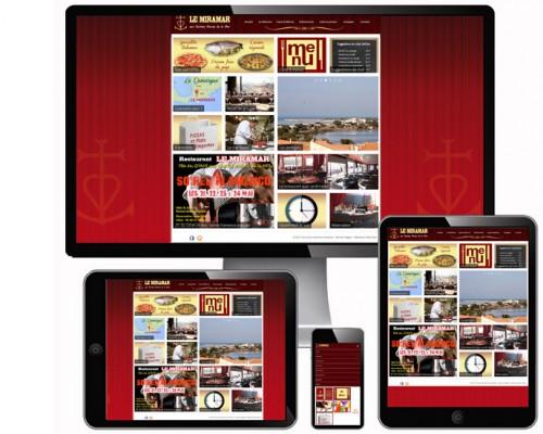 Solution pack site internet restaurant, création site internet restaurant