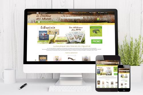 Boutique en ligne de vente de livres nature, guides touristiques, livres pour enfants - Site e-commerce Prestashop