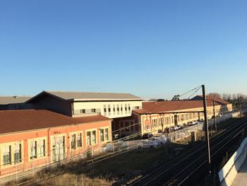 Atelier des Roues - Ateliers SNCF - Cité Yvan Audouard - 13200 Arles