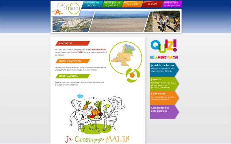 Plan Climat Energie Territorial du Pays d'Arles, Syndicat Mixte du Pays d'Arles