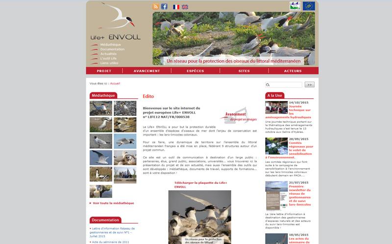 Life+ Envoll, projet européen pour la protection des oiseaux