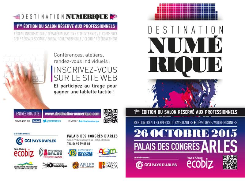 Delta Flash présente au Salon Destination Numérique à Arles