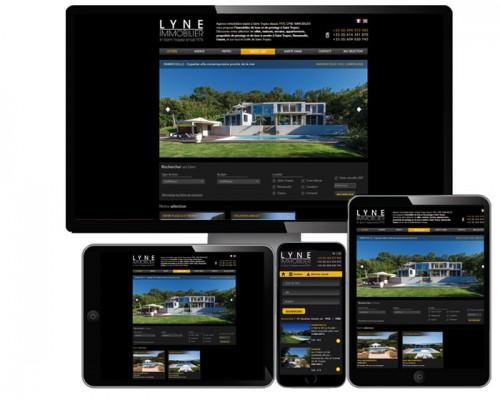 Solution pack site immobilier, création site immobilier, agence immobilière, locations saisonnières