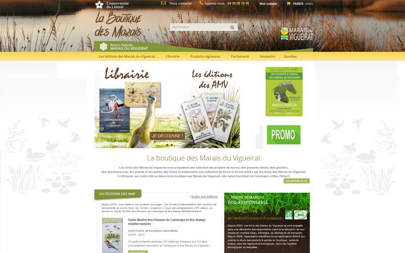 Boutique en ligne des Marais du Vigueirat