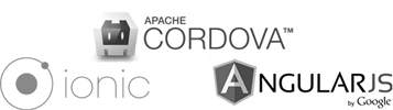 Framework Ionic, basé sur Apache Cordova et AngularJS