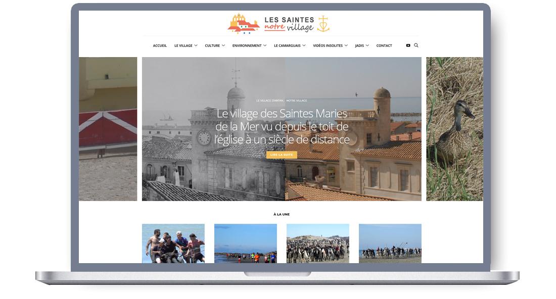 Blog culturel et d'actualité sur le village des Saintes Maries de la Mer, en Camargue
