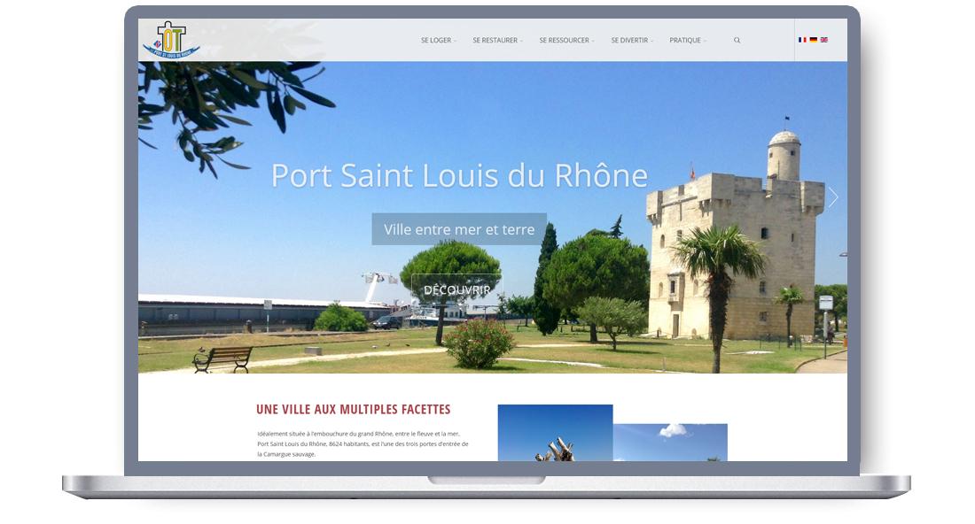 Site internet de l'Office de Tourisme de Port-Saint-Louis du Rhône
